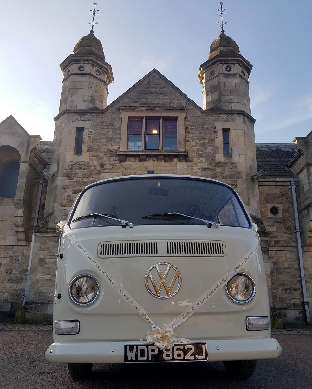 VW Campervan Wedding Hire