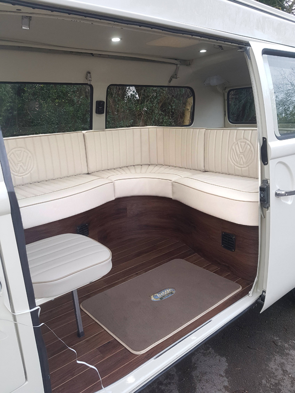 Classic and Camper VW Campervan Wedding Hire -